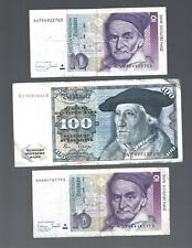Germany 🎇 120 Mark 3 Banknotes 🎇 Collections & Lots #1588