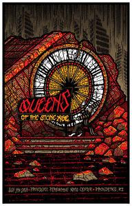 Queens Stone Age Providence Rhode Island 2014 Brad Klausen Art Poster Print