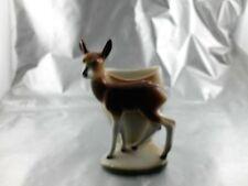 Porzelan Figur Reh Kitz mit Vasen funktion Wagner & Apel Porzelanmanufactur