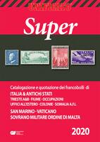 2020 Super Catalogo Unificato Repubblica Italiana San Marino Vaticano S.M.O.M