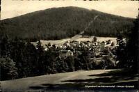 Sitzendorf im Schwarzatal DDR Postkarte 1960 gelaufen Panorama Neuer Ortsteil
