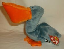 SCOOP THE PELICAN Plush Beanie Baby - by Ty - 1996 Retired