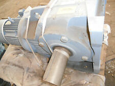 SEW EURODRIVE GEAR MOTOR NEW 10HP K107- 87-1 RIGHT ANGLE WITH BRAKE
