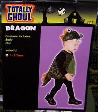 Totally Ghoul Dragon Halloween Costume Nwt! Infant Size 1-2 Years