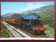 POSTCARD LMS CLASS 5 LOCO NO 45212 PULLING A SPECIAL EXCURSION