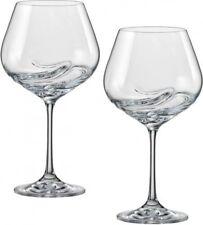 Turbulence 570ml Crystal Wine Glasses - Set of Two - Bohemia Crystal