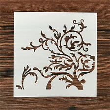 2 Pcs Packed Branches Cookie Cake Stencil Decorate Mold Fondant Biscuit Tool