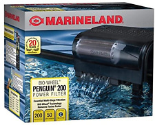 Aquarium Power Filter for Fish Tank 30-50 Gallon, 200 GPH
