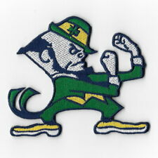 NCAA Notre Dame Leprechaun Fighting Irish Iron on Patches Embroidered Patch Sew