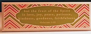 Fruit of the Spirit Sign Danielson Designs