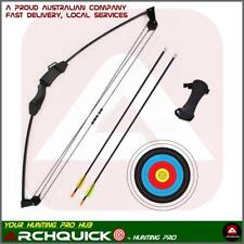 NEW 12 LBS Junior Kids Compound Bow set Shooting practice Basic Pack Gift