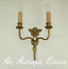 Antiguo Lámpara De Pared Iluminación Latón Estilo Moderno Figuras Luces Led
