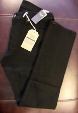 NWT Abercrombie & Fitch Men's Slim Langdon Selvedge Jeans Black 34 x 32
