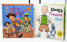 Disney PreK Book Lot: Toy Story2 / Doug's Treasure Hunt Speech Therapy Activity