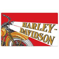 /& Blue Number One Logo Sign 2010191 White Harley-Davidson® Red