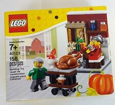 LEGO Legoland THANKSGIVING FEAST #40123 Minifig Dinner Building Kit NEW in BOX