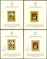 Anguilla 1969 Easter Paintings PROOFS/PRINTER'S CARDS-1