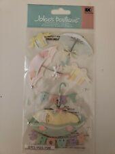 Jolees Boutique scrapbooking stickers Baby Shower