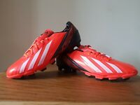 Adidas Mens F5 F50 TRX FG Football Boots Cleats Shoes Firm Ground Size UK 9.5