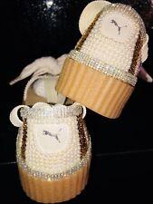 Ideal For Xmas Customised Crystal  Puma X Fenty Creeper Ballet Lace Rihanna 5