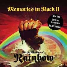 Rainbow Memories in Rock II 2 CD DVD Set Ritchie Blackmore Deep Purple