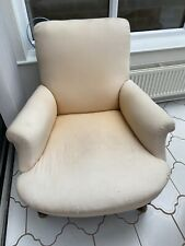 More details for victorian howard style armchair for renovation