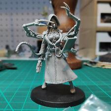 =][= Inquisitor 54mm Female Tech Priest Techpriest, Proxy Warhammer 40k Resin