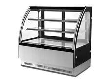 Curved Glass display commerical fridge Cake Showcase 1500x730x1200mm GN-1500CF2