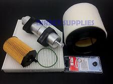 AUDI A5 3.0 TDI 204, 218, 245BHP FULL SERVICE KIT OIL-AIR-FUEL-CABIN - SUMP PLUG