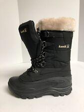 Kamik Shellback Womens Winter Snow Boot Black 9 M