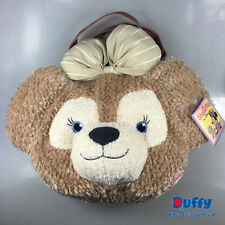 JAPAN Disney Sea Shelliemay bear plush Big 2-way shoulder bag handbag face head
