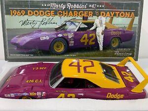 1969 #42 Marty Robbins  Nascar Dodge Charger Daytona University Racing