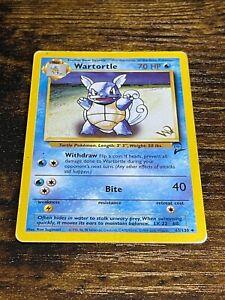Wartortle 63/130 W Stamp Promo Pokemon Card. WOTC. Base Set 2. Light Play.