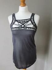 Topshop Viscose Party Patternless Tops & Shirts for Women