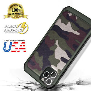 Armor Hybrid Rugged Camouflage Case For Apple iPhone 12 11/Pro /Max/XR/X/8Plus 7