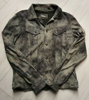 Tigha Herren Lederjacke  Jude Suede Vintage Grey Size L UVP: 279,90€
