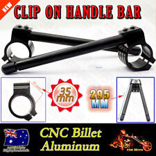 35mm Black CNC Clip On Handle bars HANDLEBAR for Yamaha XS-500 C/D/E 76-78