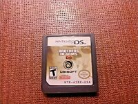 Nintendo DS Cart Only Tested Brother in Arms DS Authentic Ships Fast