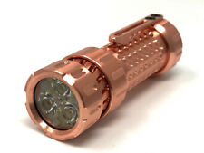 Mechforce Mechtorch EDC Warm White LED Flashlight Copper Body Turbo 1300 Lumens