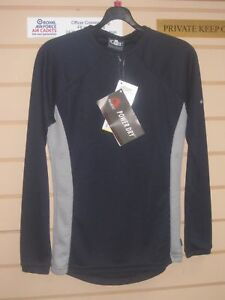 """NEW £35 Gill Thermal Cycling Base Layer XS Small Vest Blue Polartech 34"""" NOS"""