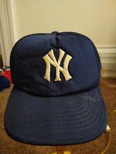 Vintage Youngan New York Yankees snapback hat cap Mlb Baseball Boys