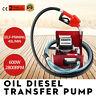 40l/min Dieselpumpe Heizölpumpe selbstansaugend Zählwerk Kraftstoff 230V/600W