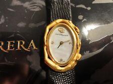 CARRERA Y CARRERA~Solid 18K Gold+Diamonds~EROS Collection # 140~Wristwatch~Spain