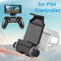 Flexible Moible Phone Clip Clamp Mount Holder Bracket For PS4 Controller Gamepad