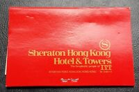 Vintage Sheraton Hong Kong Matches Book Brand New