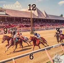 2017 Saratoga Race Track / Race Course Wall Clock - NEW