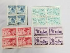 3 Cents  - Blocks - 1948-49 // USPS Lot of 4 *** See Photos
