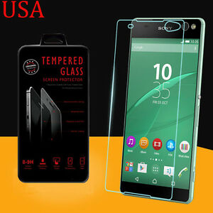 TEMPERED GLASS SCREEN PROTECTOR for Sony Xperia C5 Ultra USA