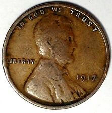 1917-P  1C Lincoln Wheat Cent 17lt0411-1   Only 50 Cents for Shipping*a