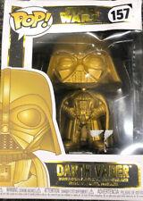 Star Wars Funko Pop! Gold Figure Darth Vader #157 Walmart Exclusive